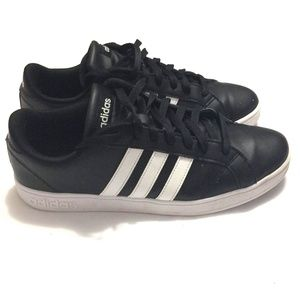 Adidas Baseline Black & White Sneakers